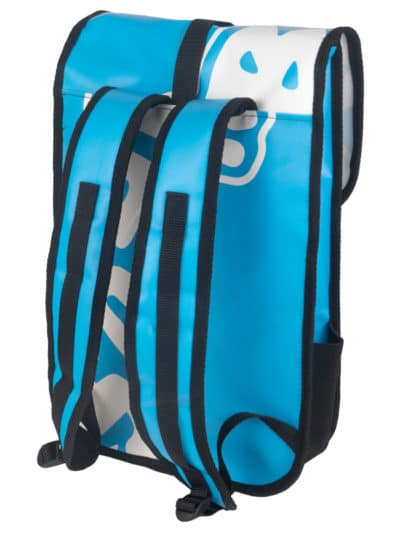 Backpack Light Blue Back