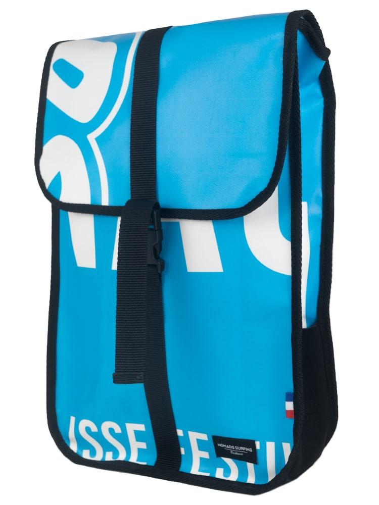 Light Blue Face Backpack