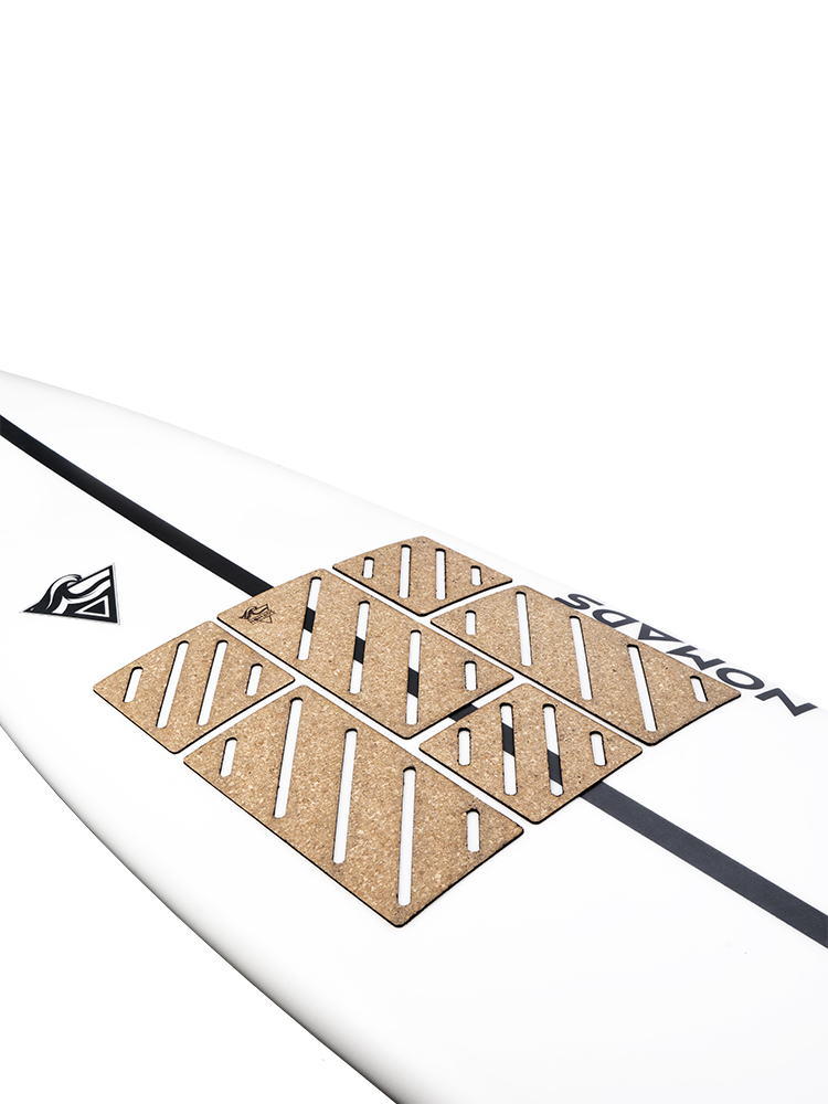 Front traction pad surfboard